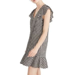 NWT Madewell gingham dress
